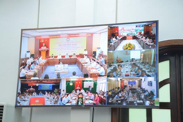 Hội nghị được tổ chức theo hình thức trực tuyến.