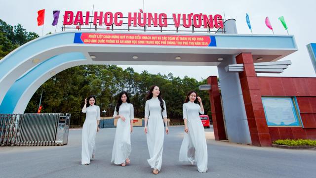 """Đại học Hùng Vương có cơ sở vật chất và trang thiết bị đào tạo hiện đại đang hướng đến là """"đại học vệ tinh"""" của ĐH Quốc gia HN."""