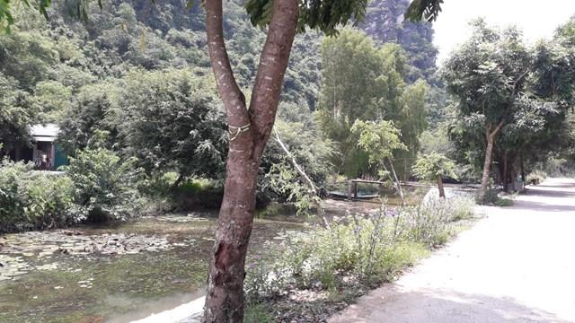 Ninh Bình: Kênh thoát nước núi vùng lõi di sản bị xâm phạm - Ảnh 2