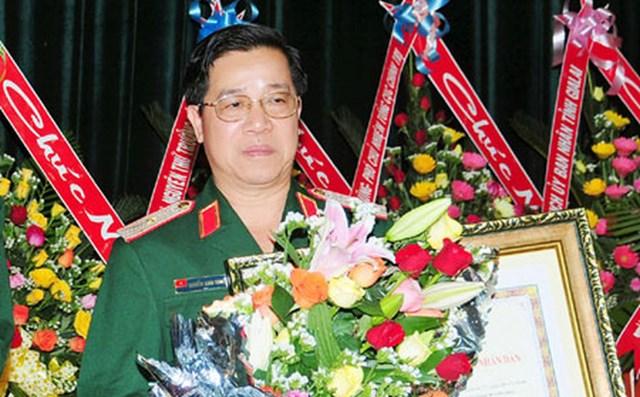 Thiếu tướng Nguyễn Xuân Sang.
