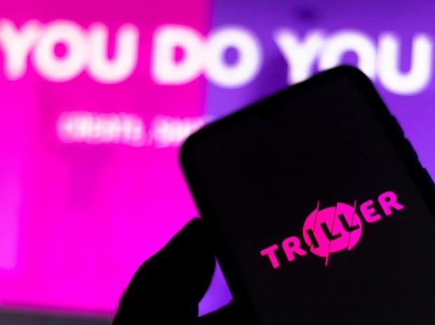 Triller, đối thủ cạnh tranh của TikTok. (Nguồn: Getty Images).