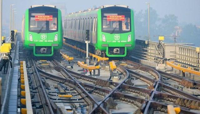 """Dự án đường sắt Cát Linh - Hà Đông đang """"vướng"""" một số tồn tại, vướng mắc liên quan đến thiết bị khu Depot, đánh giá an toàn đoàn tàu. (Ảnh: Toàn Vũ)."""