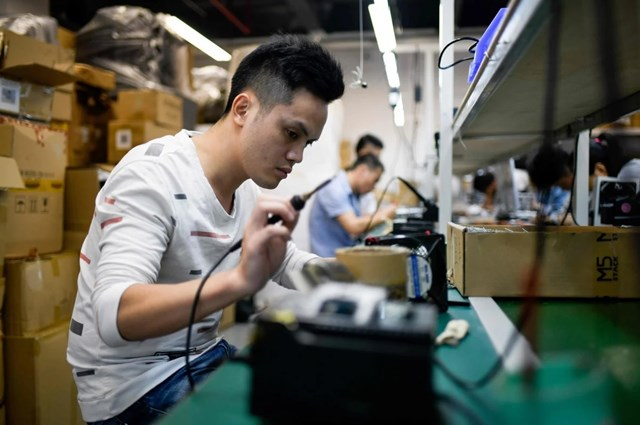 Những năm qua, công nghệ của Trung Quốc đã phát triển mạnh.