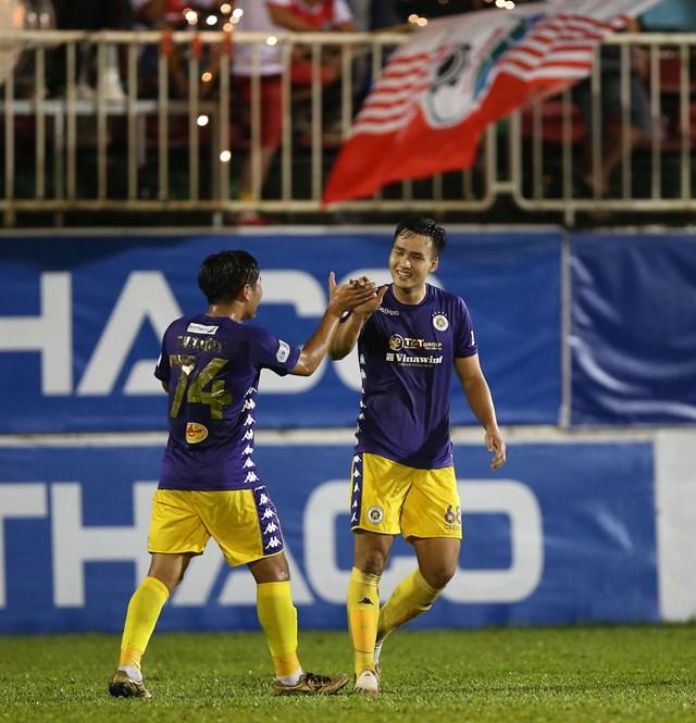 Hà Nội FC đang chứng minh sức mạnh cùa nhà vô địch.