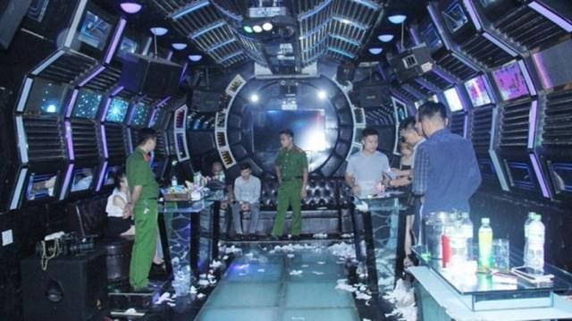 Hàng loạt ổ bay lắc, sử dụng ma túy bị triệt phá. Nguồn: Công an Lào Cai.