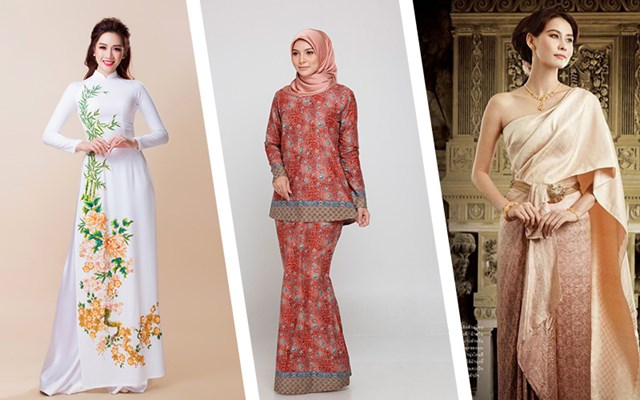 Triển lãm trang phục truyền thống các nước ASEAN 2020 - Ảnh 1