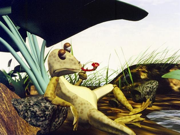 Phim hoạt hình 3D: Giấc mơ của ếch xanh.