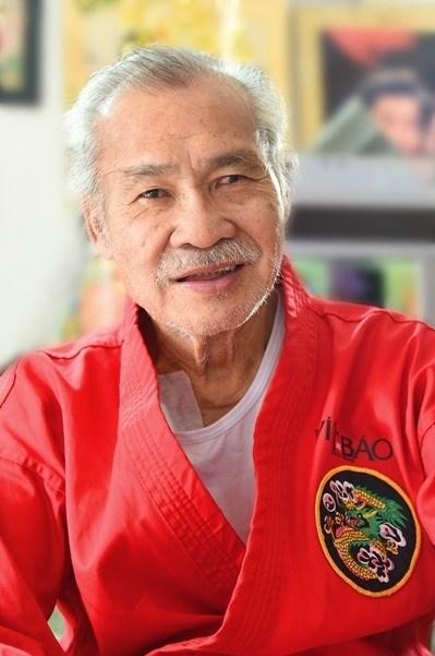 Võ sư, nghệ sĩ Lý Huỳnh.