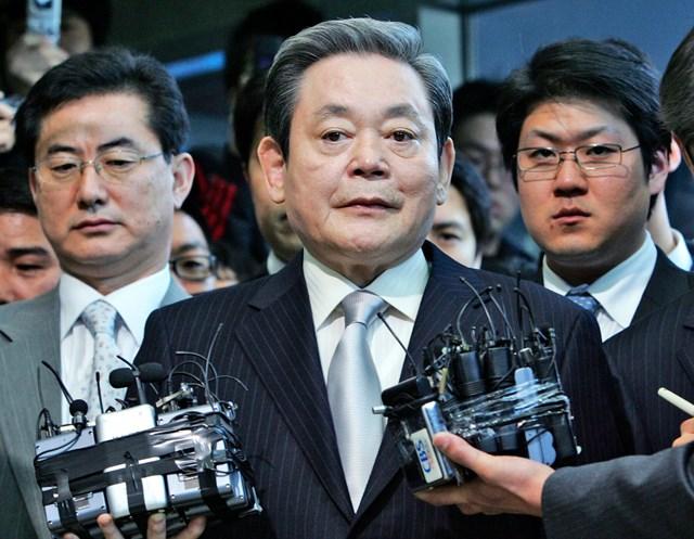 Ông Lee Kun-hee.