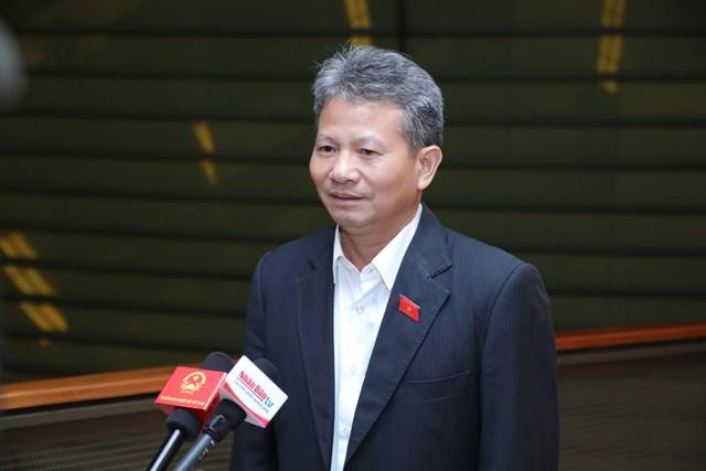 ĐBQH Đỗ Văn Sinh. Ảnh: Quang Vinh.