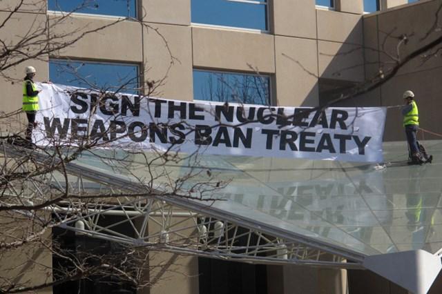 Hiệp ước Cấm vũ khí hạt nhân của LHQ đủ điều kiện có hiệu lực - Ảnh 1