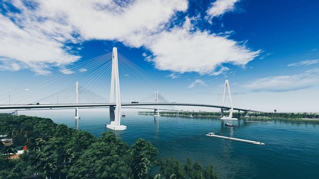 Cầu Mỹ Thuận 2 trong tương lai.