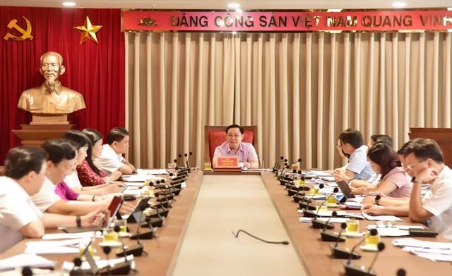 Bí thư Thành ủy Hà Nội: Sớm hoàn thiện Đề án thí điểm thi tuyển một số chức danh