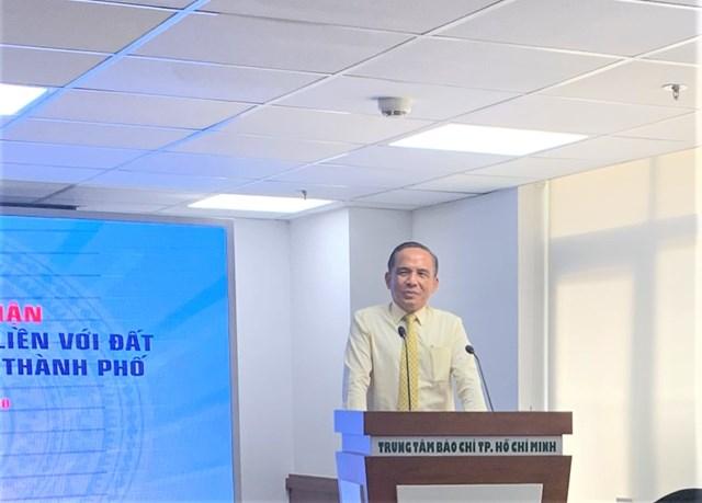 Ông Lê Hoàng Châu, Chủ tịch Hiệp hội Bất động sản TP HCM hoan nghênh nỗ lực lấy lại niềm tin vào môi trường đầu tư của TP HCM