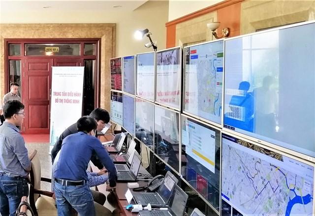 Nhiều hạng mục của đô thị thông minh đã được TP HCM đưa vào hoạt động từ đầu năm nay.