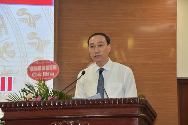 Phó Chủ tịch Phùng Khánh Tài phát biểu tạiĐại hội