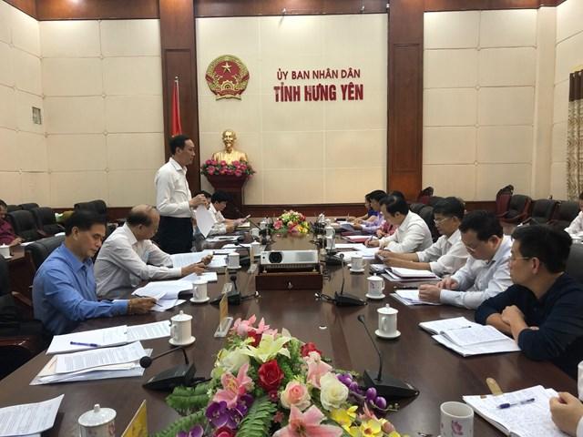 Đoàn Giám sát của UBTƯ MTTQ Việt Nam làm việc với tỉnh Hưng Yên.