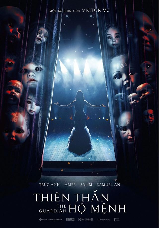 Poster bộ phim Thiên thần hộ mệnh.