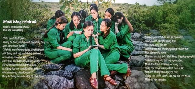 MV Mười bông trinh nữ.