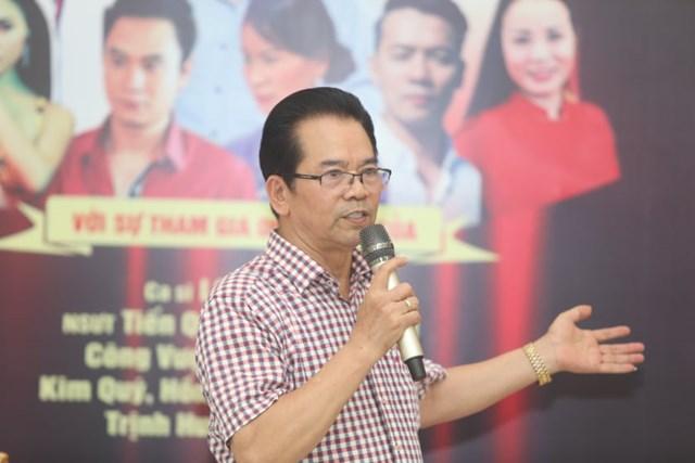 NSND Trần Nhượng, Chủ nhiệm Câu lạc bộ Sân khấu Thử nghiệm kiêm Giám đốc Công ty Cổ phần Nhà hát Thử nghiệm Việt Nam. Ảnh Thanh Tùng