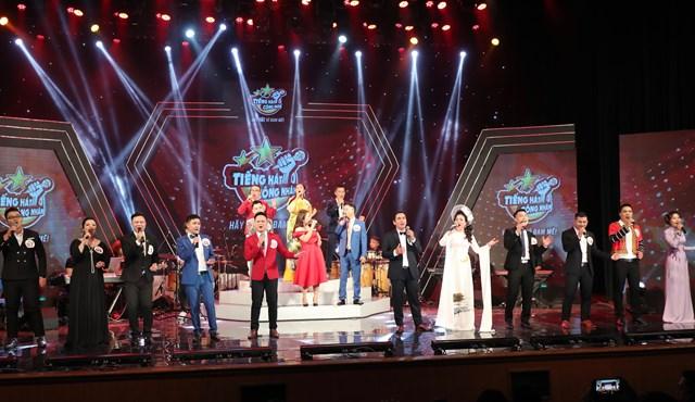 Chung kết cuộc thi Tiếng hát công nhân mùa 2.