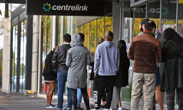 Tỷ lệ thất nghiệp ở Australia tăng mạnh trong bối cảnh đại dịch Covid-19. (Nguồn: Guardian).