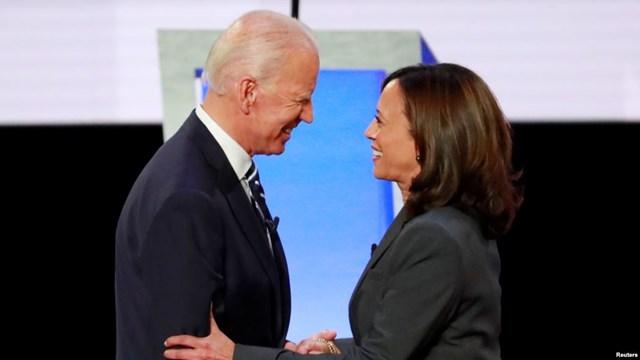 Ông Joe Biden và Thượng nghị sĩ Kamala Harris. Ảnh: Reuters.