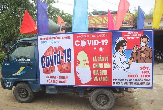 Quảng Nam đẩy mạnh công tác phòng, chống dịch Covid-19.