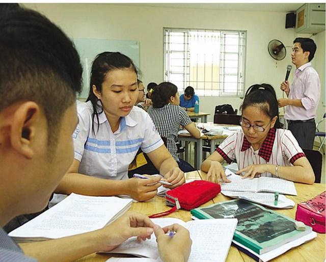 Sinh viên Trường ĐH Sư phạm TP HCM.