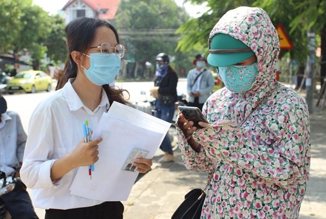 Thí sinh Quảng Nam tham dự kỳ thi tốt nghiệp THPT đợt 2.