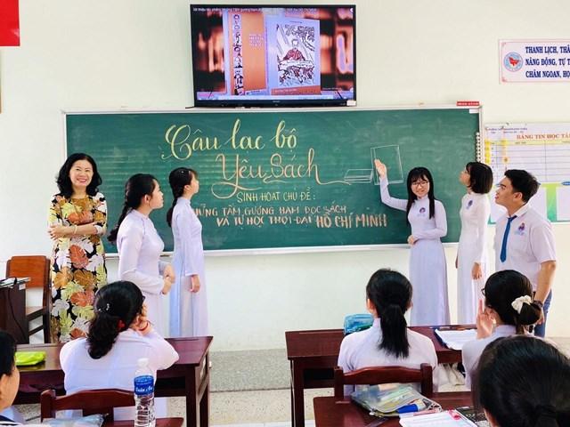 Việc phát triển văn hóa đọc hiện nay chủ yếu tập trung ở các trường học.