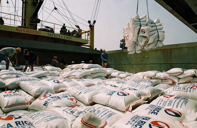 Gạo đang là điểm sáng xuất khẩu trong các mặt hàng nông sản Việt.