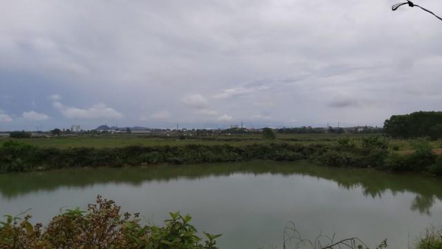 Dự án Khu đô thị dầu khí tại Nghệ An bỏ hoang suốt nhiều năm qua.