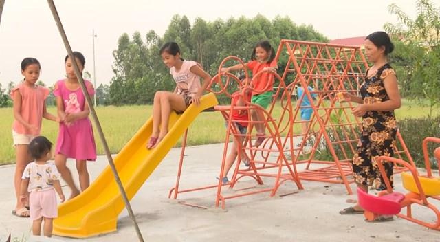 Khu vui chơi của thôn Ngọc Quan, xã Lâm Thao.