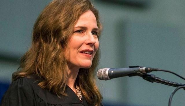 Thẩm phán Tòa án Phúc thẩm Mỹ Amy Coney Barrett là ứng cử viên hàng đầu thay vị trí mà bà Ruth Bader Ginsburg để lại.