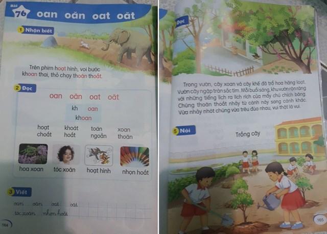 Với một số sách, HS phải học đến 4 vần trong một buổi.