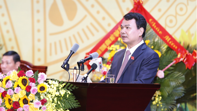Tân Bí thư Tỉnh uỷ Lào Cai Đặng Xuân Phong.