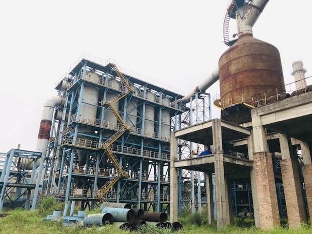Nhà máy thép Thái Nguyên.