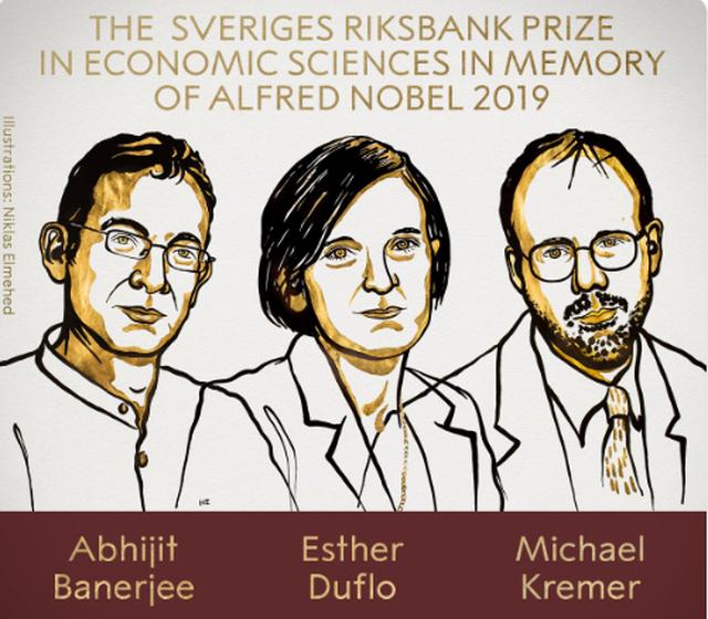 Ba nhà kinh tế đoạt giải Nobel Kinh tế 2020.