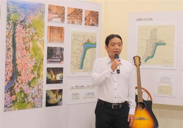 Tân Thứ trưởng Bộ Văn hóa, thể thao và du lịch Hoàng Đạo Cương. Ảnh: Báo Đại biểu nhân dân.