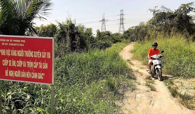 Siêu dự án treo KCN Phong Phú, huyện Bình Chánh gần 20 năm nằm phơi sương.