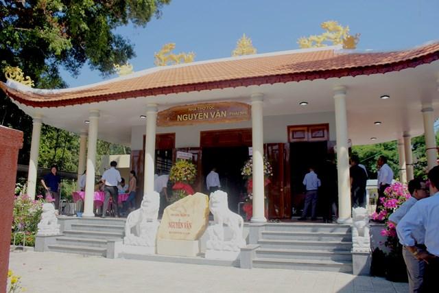 Một góc nhà thờ tộc họ Nguyễn Văn- phái nhì.