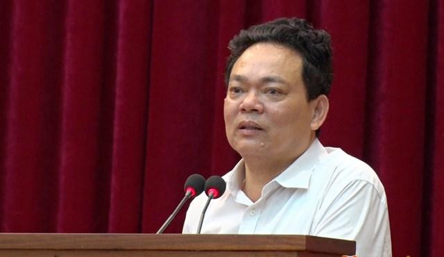 Ông Phạm Tiến Hưng, Phó Chủ tịch UBND huyện Nghi Xuân. Ảnh: Cổng thông tin huyện Nghi Xuân.