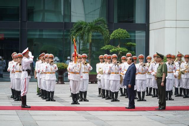 Thủ tướng dự Hội nghị sơ kết công tác công an 6 tháng đầu năm 2020 - Ảnh 1