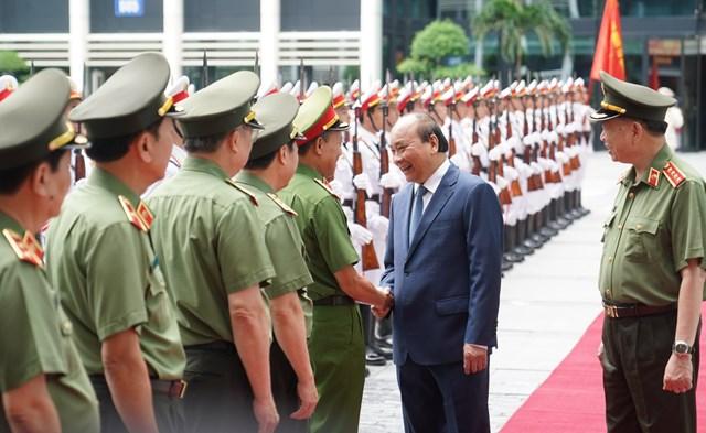 Thủ tướng dự Hội nghị sơ kết công tác công an 6 tháng đầu năm 2020 - Ảnh 2