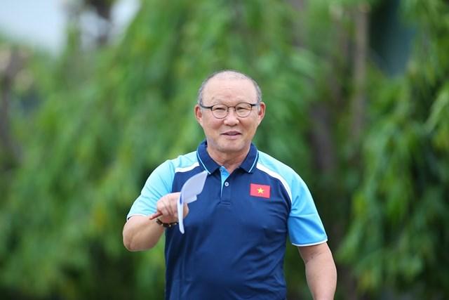 HLV Park Hang Seo. Ảnh: Nguyễn Quân.