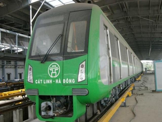 Thủ tướng yêu cầu sớm đưa dự án đường sắt đô thị Hà Nội, tuyến Cát Linh – Hà Đông vào khai thác.