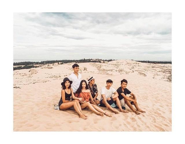 Cồn cát Quang Phú là nơi rất nhiều MV ca nhạc chọn làm bối cảnh. (Ảnh: @tangockhanhninh).
