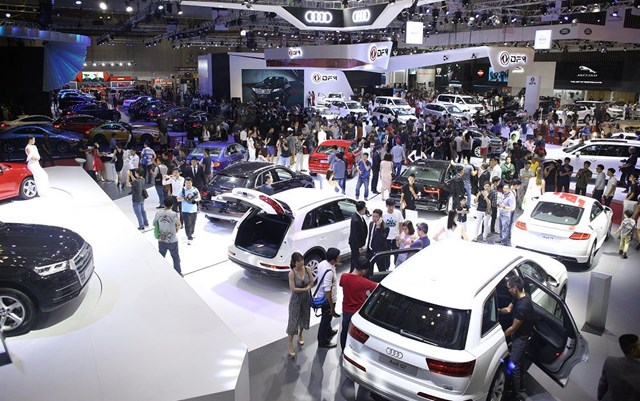 Thị trường ô tô dần sôi động trở lại.