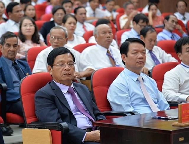 Tại đại hội Đảng bộ huyện Ba Tơ mới đây, ông Lê Viết Chữ tham dự nhưng không phát biểu chỉ đạo.